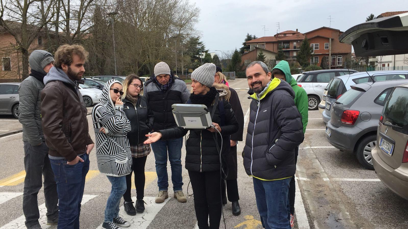 Docenti nei corsi annuali IFTS Ravenna di Monitoraggio del Territorio